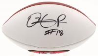Dante Pettis Signed San Francisco 49ers Logo Football (Beckett COA) at PristineAuction.com