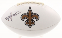 Alvin Kamara Signed New Orleans Saints Logo Football (JSA COA) at PristineAuction.com
