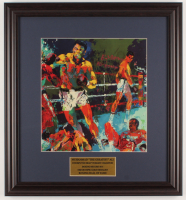 "LeRo Neiman ""Muhammad Ali"" 17.5x19 Custom Framed Print Display at PristineAuction.com"