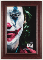 """Joker"" 14.5x20.5 Custom Framed Movie Poster Display at PristineAuction.com"