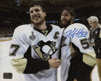 Kris Letang Signed Pittsburgh Penguins 8x10 Photo (Letang COA) at PristineAuction.com