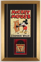 "Walt Disney's ""Mickey Mouse"" 13.5x21 Custom Framed Film Reel Display at PristineAuction.com"