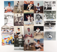 Lot of (20) Signed 8x10 Baseball Photos with Pete Rose, Jose Canseco, Johnny Podres, & Roger Craig (JSA COA, Beckett COA, & Sports Card SOA) at PristineAuction.com
