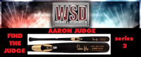 WSD Baseball Bat Mystery Box Series 2 - (Find the Judge!) at PristineAuction.com