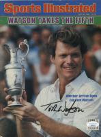 Tom Watson Signed 1983 Sports Illustrated Magazine (JSA COA) at PristineAuction.com