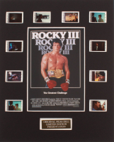 """""""Rocky III"""" LE 8x10 Custom Matted Original Film / Movie Cell Display at PristineAuction.com"""