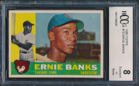 1960 Topps #10 Ernie Banks (BCCG 8) at PristineAuction.com
