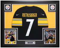 Ben Roethlisberger Signed 35x43 Custom Framed Jersey (Fanatics Hologram) at PristineAuction.com