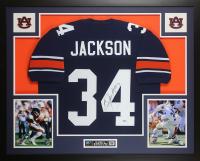 Bo Jackson Signed 35x43 Custom Framed Jersey (Beckett COA) at PristineAuction.com