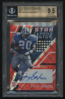 2017 Panini Unparalleled Star Factor Autographs Red #16 Barry Sanders #4/25 (BGS 9.5) at PristineAuction.com