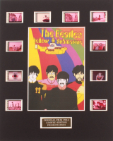 """""""The Beatles: Yellow Submarine"""" LE 8x10 Custom Matted Original Film / Movie Cell Display at PristineAuction.com"""