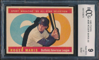 1960 Topps #565 Roger Maris All-Star (BCCG 9) at PristineAuction.com