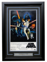 "Harrison Ford Signed ""Star Wars: A New Hope"" 16x20 Custom Framed Photo Display (Beckett LOA) at PristineAuction.com"