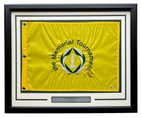 Jack Nicklaus Signed Memorial Tournament 19x23 Custom Framed Golf Flag Display (Beckett LOA) at PristineAuction.com