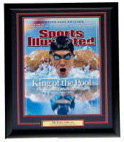 Michael Phelps Signed 22x27 Custom Framed Photo Display (Steiner COA) at PristineAuction.com