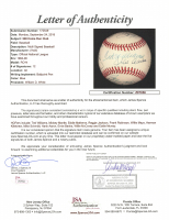 500 Home Run Club ONL Baseball Signed by (12) with Ted Williams, Mickey Mantle, Eddie Mathews, Reggie Jackson, Frank Robinson (JSA LOA) at PristineAuction.com