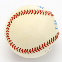 Mickey Charles Mantle Signed OAL Baseball (PSA LOA) at PristineAuction.com