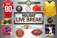 Schwartz Sports HOLIDAY SEASON Live Break Mystery Box – Series 1 (4 Items Per Box) (#4 of 25) at PristineAuction.com