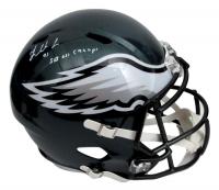"Fletcher Cox Signed Eagles Super Bowl LII Full-Size Speed Helmet Inscribed ""SB LII Champ!"" (JSA COA) at PristineAuction.com"