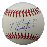 Michael Conforto Signed OML Baseball (Beckett COA) at PristineAuction.com
