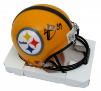 Minkah Fitzpatrick Signed Pittsburgh Steelers Mini Helmet (JSA COA) at PristineAuction.com