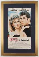"""""""Grease"""" 17x25 Custom Framed Movie Poster Display at PristineAuction.com"""