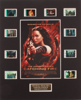 """""""The Hunger Games: Catching Fire"""" LE 8x10 Custom Matted Original Film / Movie Cell Display at PristineAuction.com"""
