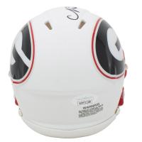 Nick Chubb Signed Georgia Bulldogs AMP Alternate Speed Mini Helmet (JSA COA) at PristineAuction.com