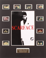 """""""Scarface"""" LE 8x10 Custom Matted Original Film / Movie Cell Display at PristineAuction.com"""