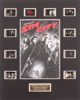 """""""Sin City"""" LE 8x10 Custom Matted Original Film / Movie Cell Display at PristineAuction.com"""