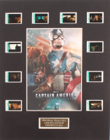 """""""Captain America: The First Avenger"""" LE 8x10 Custom Matted Original Film / Movie Cell Display at PristineAuction.com"""