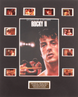 """""""Rocky II"""" LE 8x10 Custom Matted Original Film / Movie Cell Display at PristineAuction.com"""