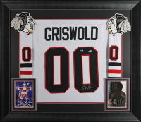 Chevy Chase Signed 32x37 Custom Framed Jersey Display (Beckett COA & Chase Hologram) at PristineAuction.com
