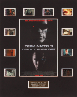 """Terminator 3: Rise of the Machines"" LE 8x10 Custom Matted Original Film / Movie Cell Display at PristineAuction.com"