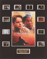 """""""The Shawshank Redemption"""" LE 8x10 Custom Matted Original Film / Movie Cell Display at PristineAuction.com"""