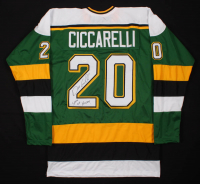 "Dino Ciccarelli Signed Jersey Inscribed ""State of Hockey!"" (TSE COA) at PristineAuction.com"