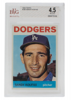 1964 Topps #200 Sandy Koufax (BVG 4.5) at PristineAuction.com