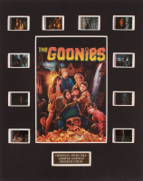 """The Goonies"" LE 8x10 Custom Matted Original Film / Movie Cell Display at PristineAuction.com"