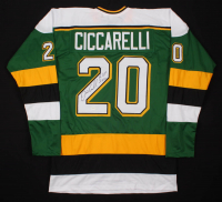 "Dino Ciccarelli Signed Jersey Inscribed ""H.O.F. 2010"" (TSE COA) at PristineAuction.com"