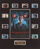 """Terminator 2: Judgment Day"" LE 8x10 Custom Matted Original Film / Movie Cell Display at PristineAuction.com"