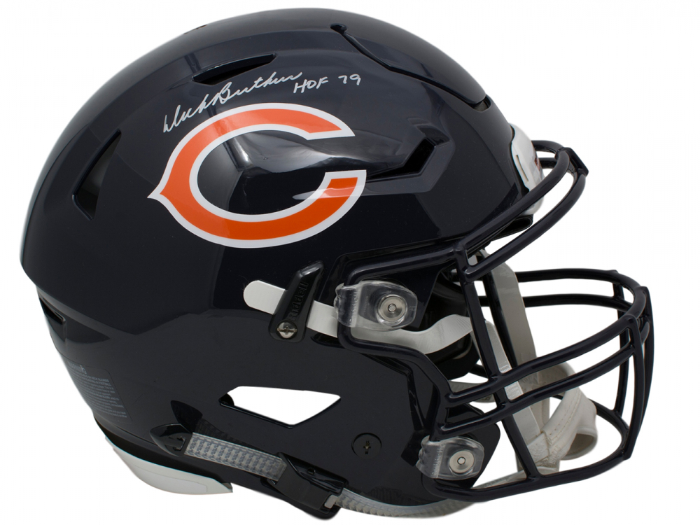 Dick Butkus Signed Chicago Bears Full-Size Authentic On -3885