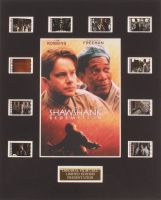 """The Shawshank Redemption"" LE 8x10 Custom Matted Original Film / Movie Cell Display at PristineAuction.com"