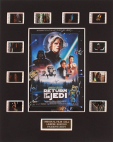 """""""Star Wars: Episode VI – Return of the Jedi"""" LE 8x10 Custom Matted Original Film / Movie Cell Display at PristineAuction.com"""