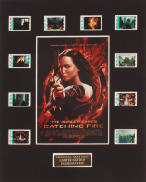 """The Hunger Games: Catching Fire"" LE 8x10 Custom Matted Original Film / Movie Cell Display at PristineAuction.com"