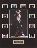 "Michael Jackson ""Moonwalker"" LE 8x10 Custom Matted Original Film / Movie Cell Display at PristineAuction.com"