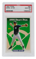 1993 Topps #98 Derek Jeter RC (PSA 10) at PristineAuction.com
