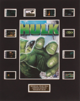 """Hulk"" LE 8x10 Custom Matted Original Film / Movie Cell Display at PristineAuction.com"