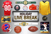 Schwartz Sports HOLIDAY SEASON Live Break Mystery Box – Series 1 (4 Items Per Box) (#16 of 25) at PristineAuction.com