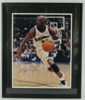 Michael Jordan Signed Washington Wizards 21x25 Custom Framed LE Photo (UDA Hologram) at PristineAuction.com