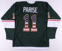 Zach Parise Signed Jersey (TSE COA) at PristineAuction.com